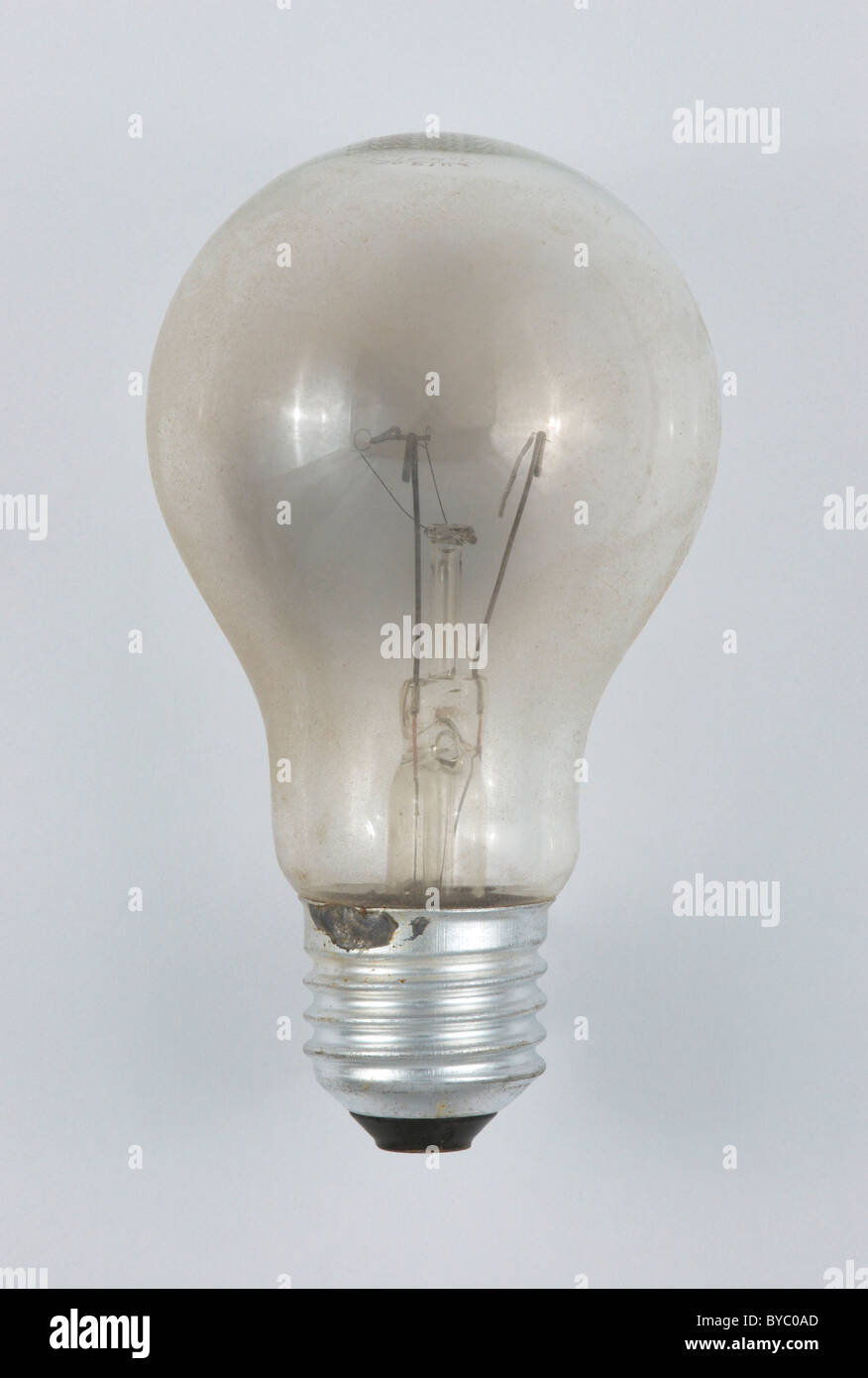 Broken Light Bulb Clean