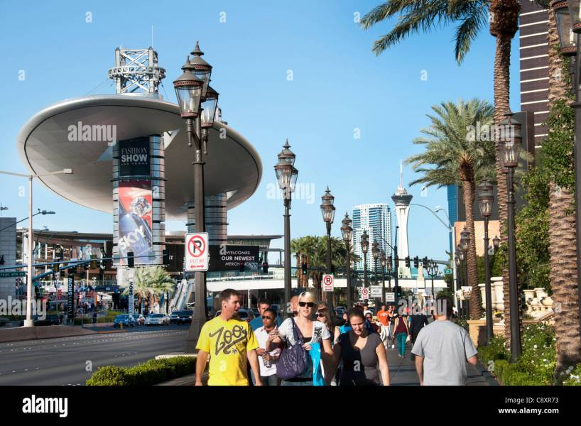 Fashion Capital Of The World Stock Photos   Fashion Capital Of The     Las Vegas gambling capital of the World United States Nevada   Stock Image