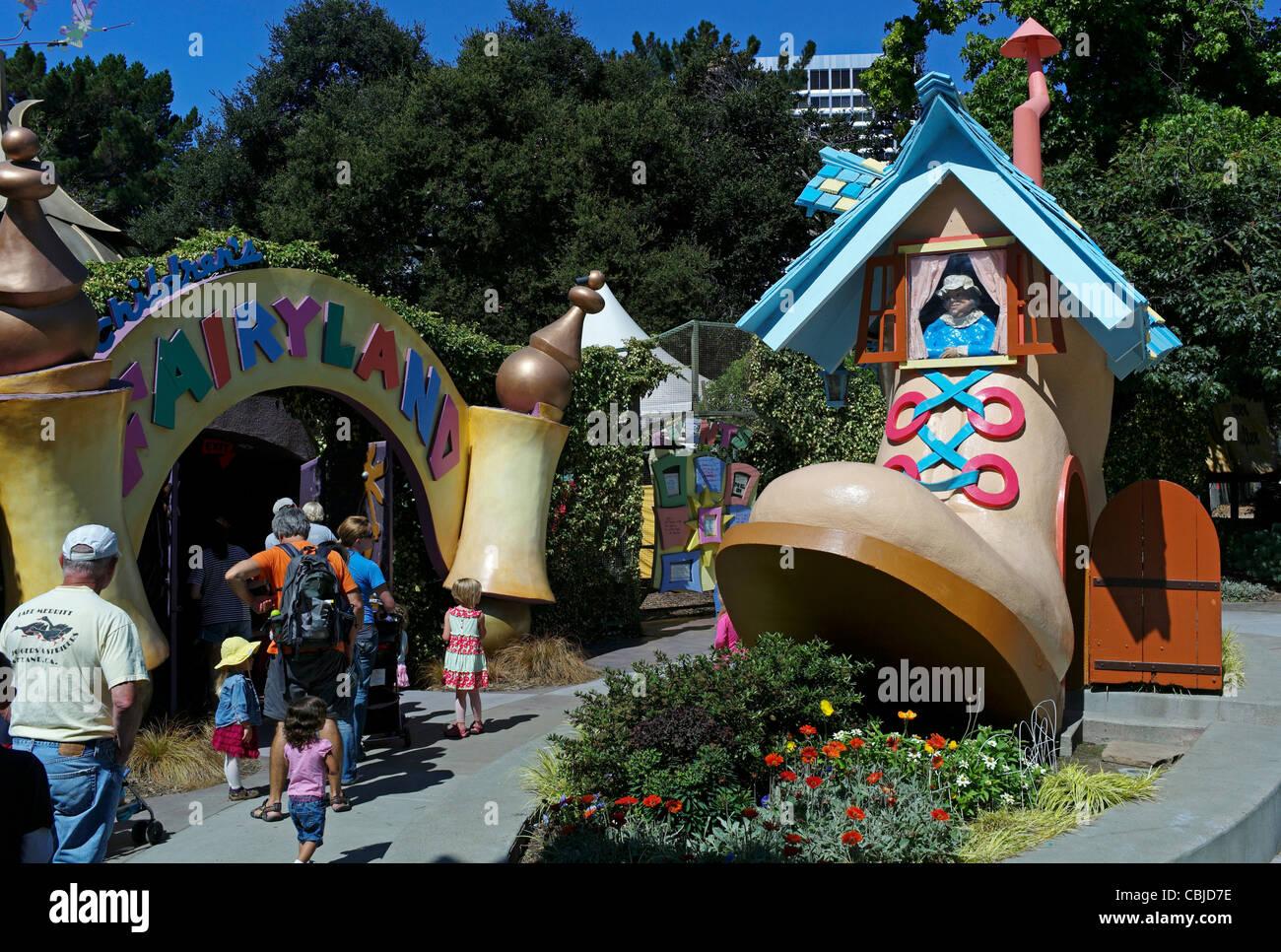 Children's amusement park Fairyland Oakland was the first ...