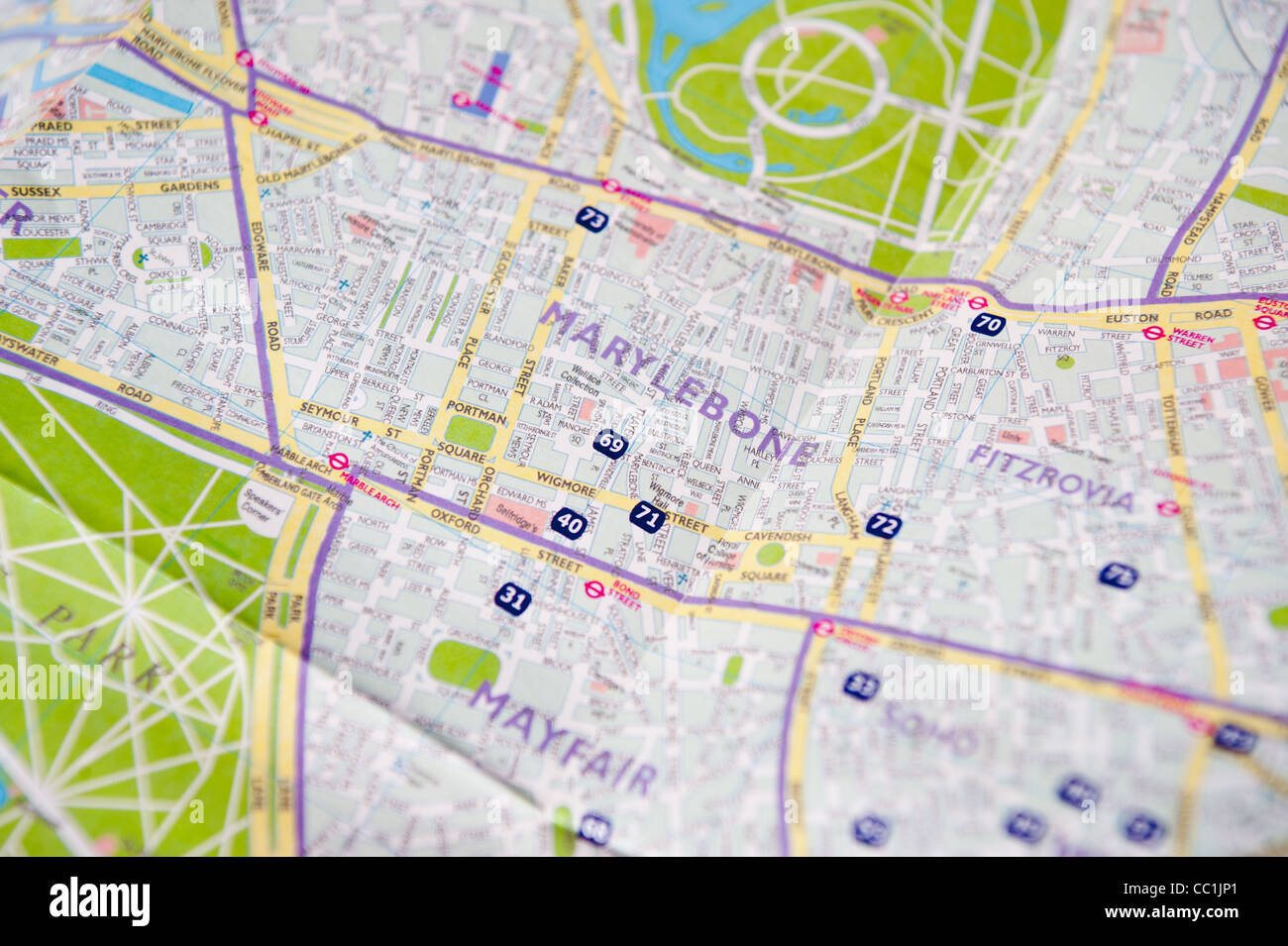 Kensington Map Royal Borough of Kensington and