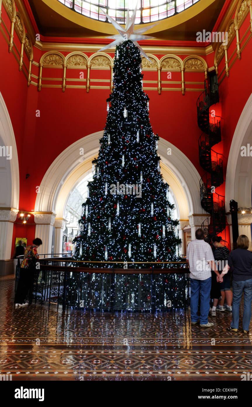 Queen Victoria Building Christmas Tree