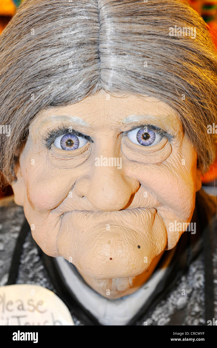 Plastic ugly face of a senior woman Stock Photo: 48841619 ...