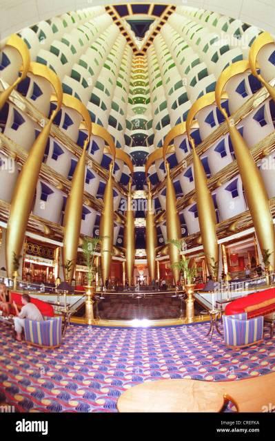 Burj Al Arab, the most expensive hotel in the world, Dubai ...