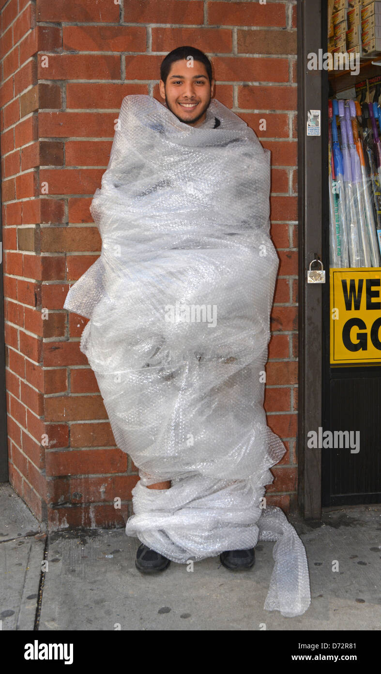 Wrap Wrapped Bubble People