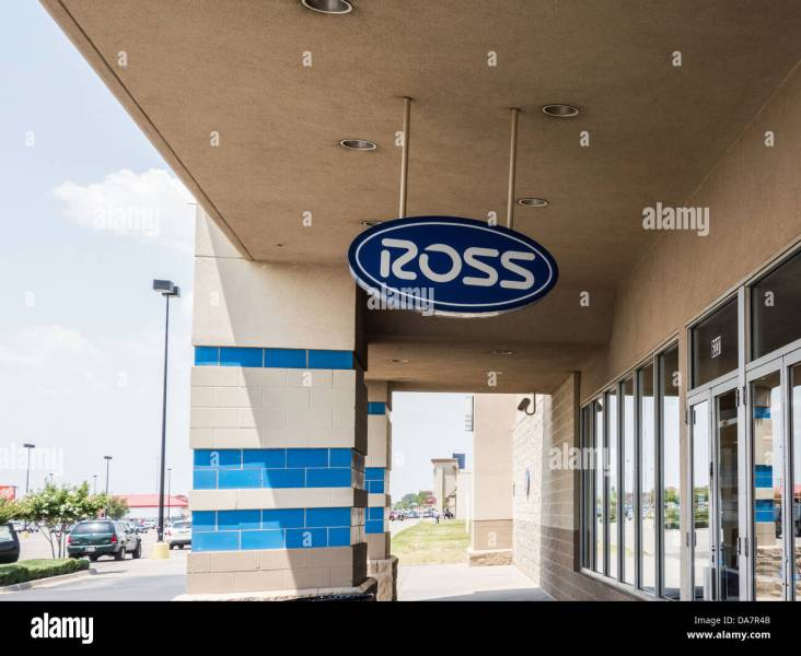 Department Ross Stock Photos   Department Ross Stock Images   Alamy Outside view of a Ross Dress For Less sign and facade  a department store of
