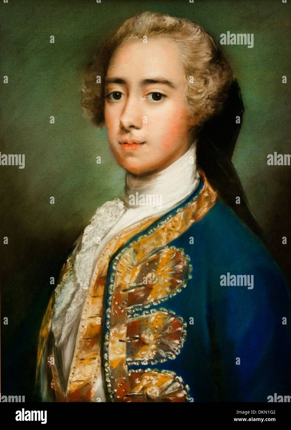 Lord St Georg 1715 1775 by Rosalba Carriera 1675 1757 Venetian Stock     Lord St Georg 1715 1775 by Rosalba Carriera 1675 1757 Venetian Rococo  painter Italian Italy