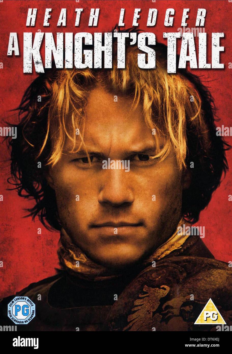 HEATH LEDGER FILM POSTER A KNIGHT'S TALE (2001 Stock Photo ...