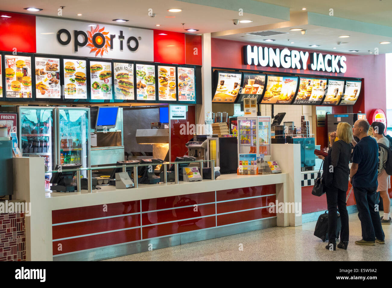 Fast Food Places Area