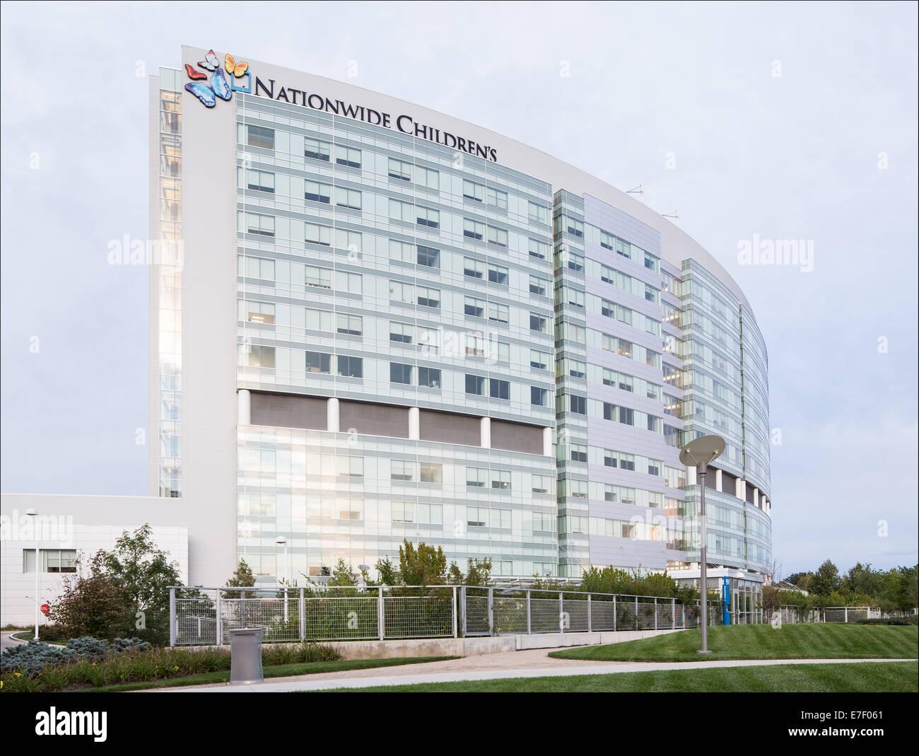 Nationwide Children's Hospital located in Columbus Ohio ...