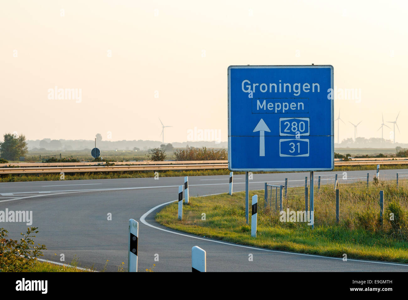 Autobahn Germany Highway Map