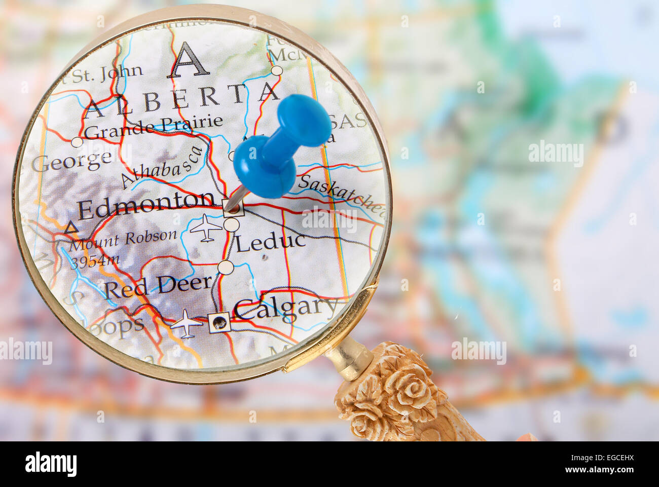 to Edmonton Alberta Eastern Western Canada