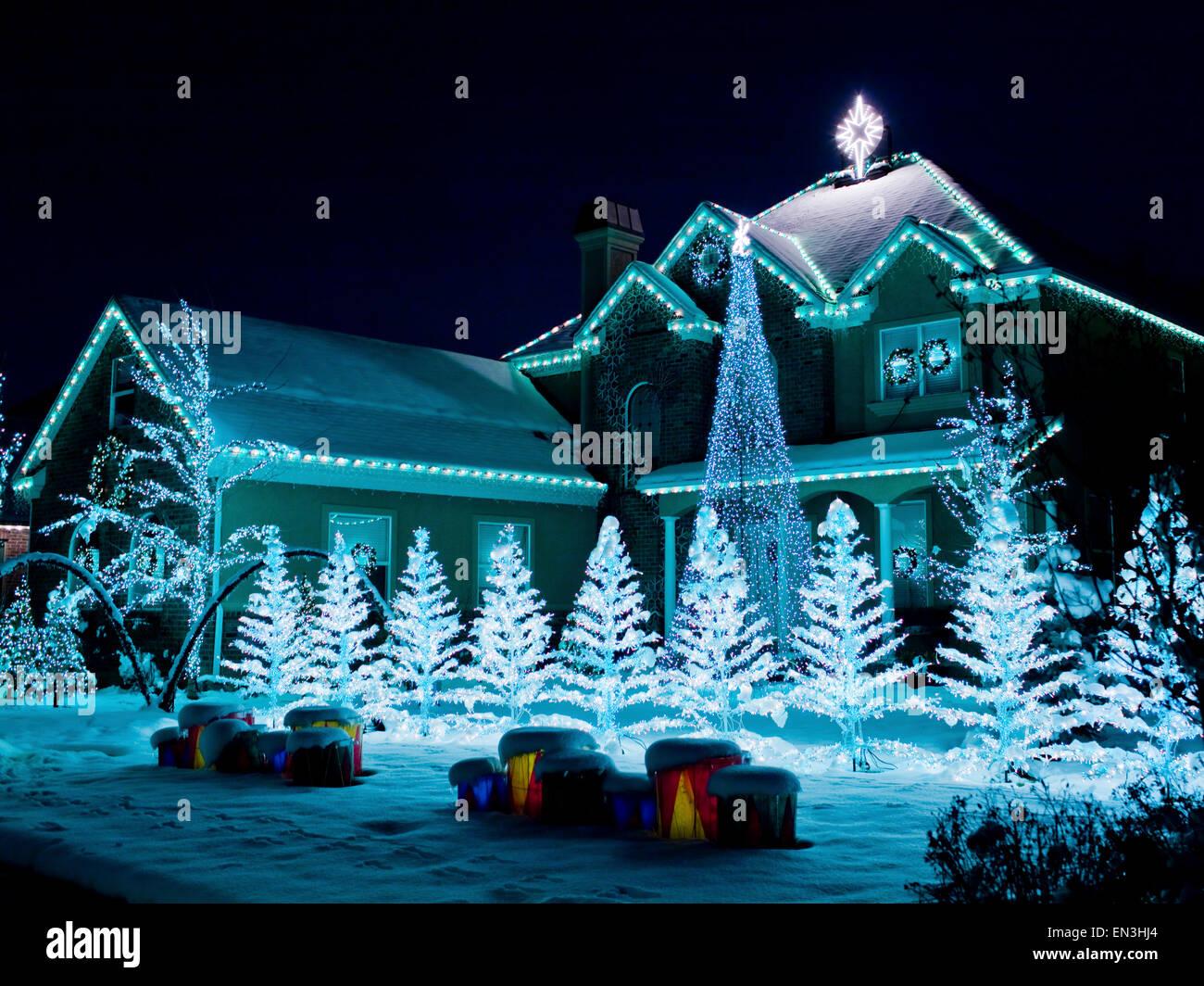 Christmas Lights Ideas House