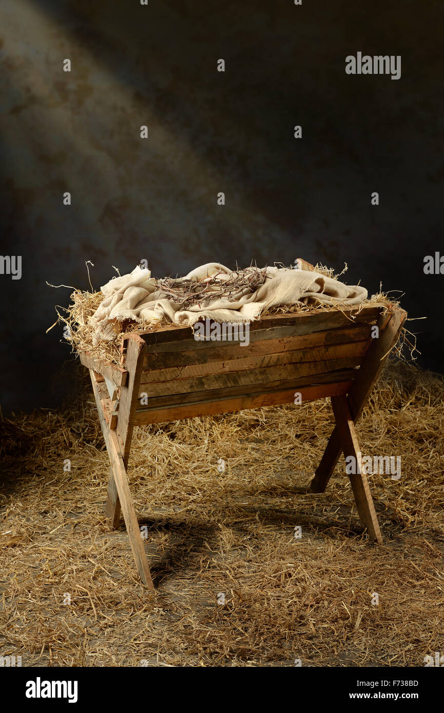 Baby Jesus Was Born Barn