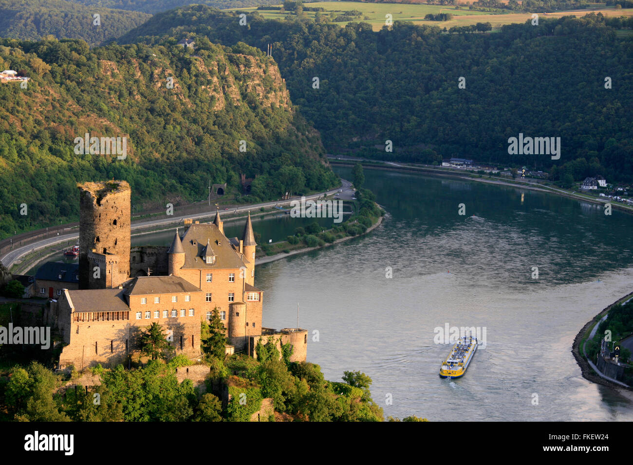 St Goarshausen Castles