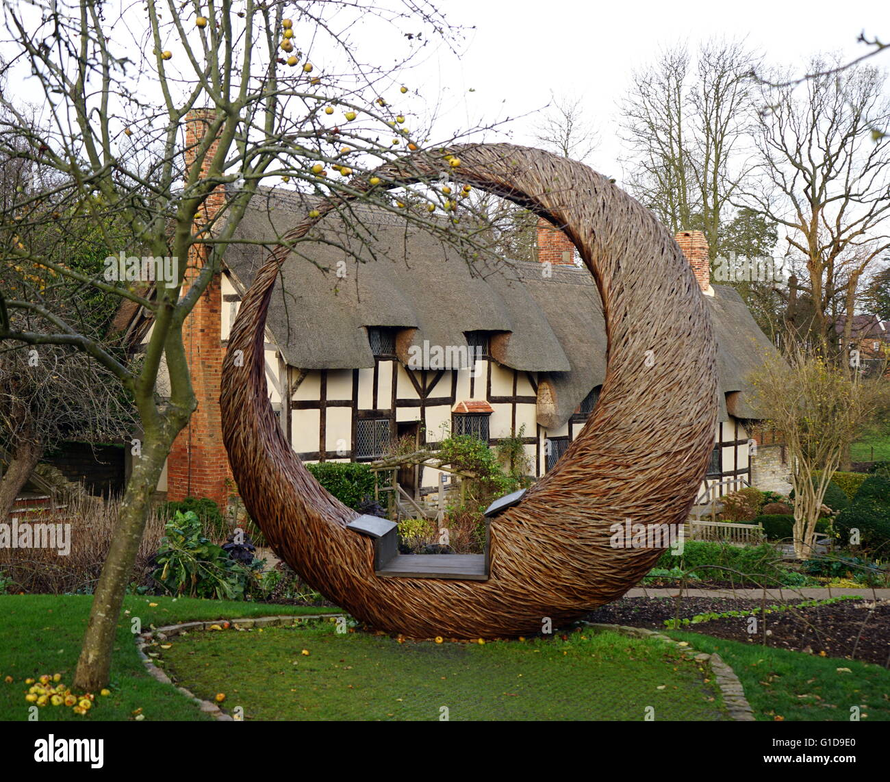 Anne Hathaway's Cottage, where Anne Hathaway, the wife of ...