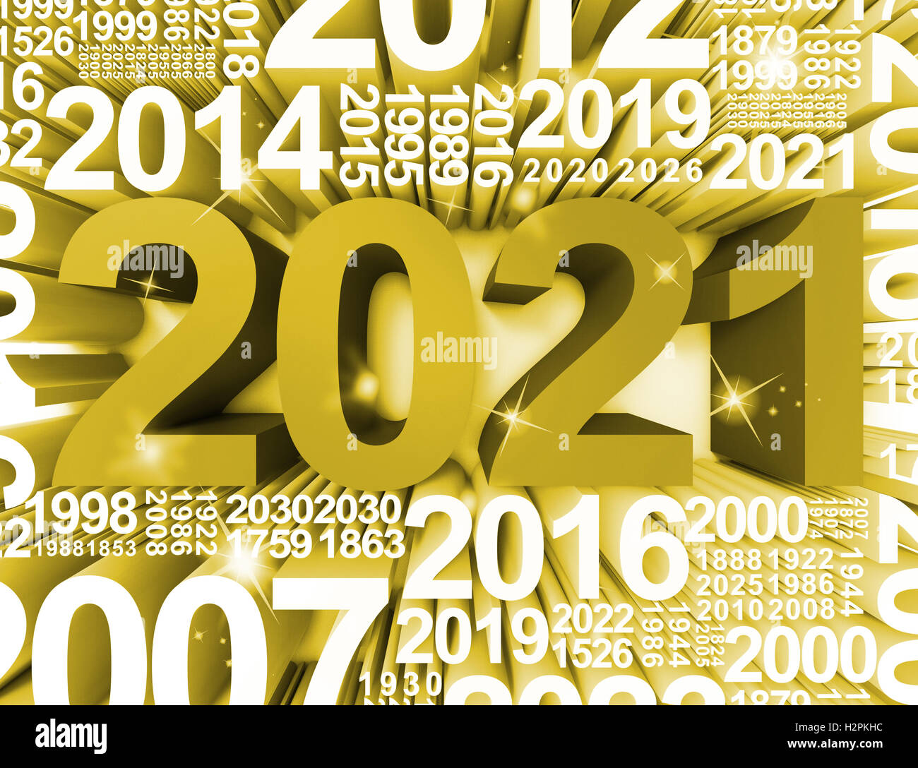 Two Thousand Twenty One New Year Symbol Or 2021 3d Rendering Stock     Two Thousand Twenty One New Year Symbol Or 2021 3d Rendering