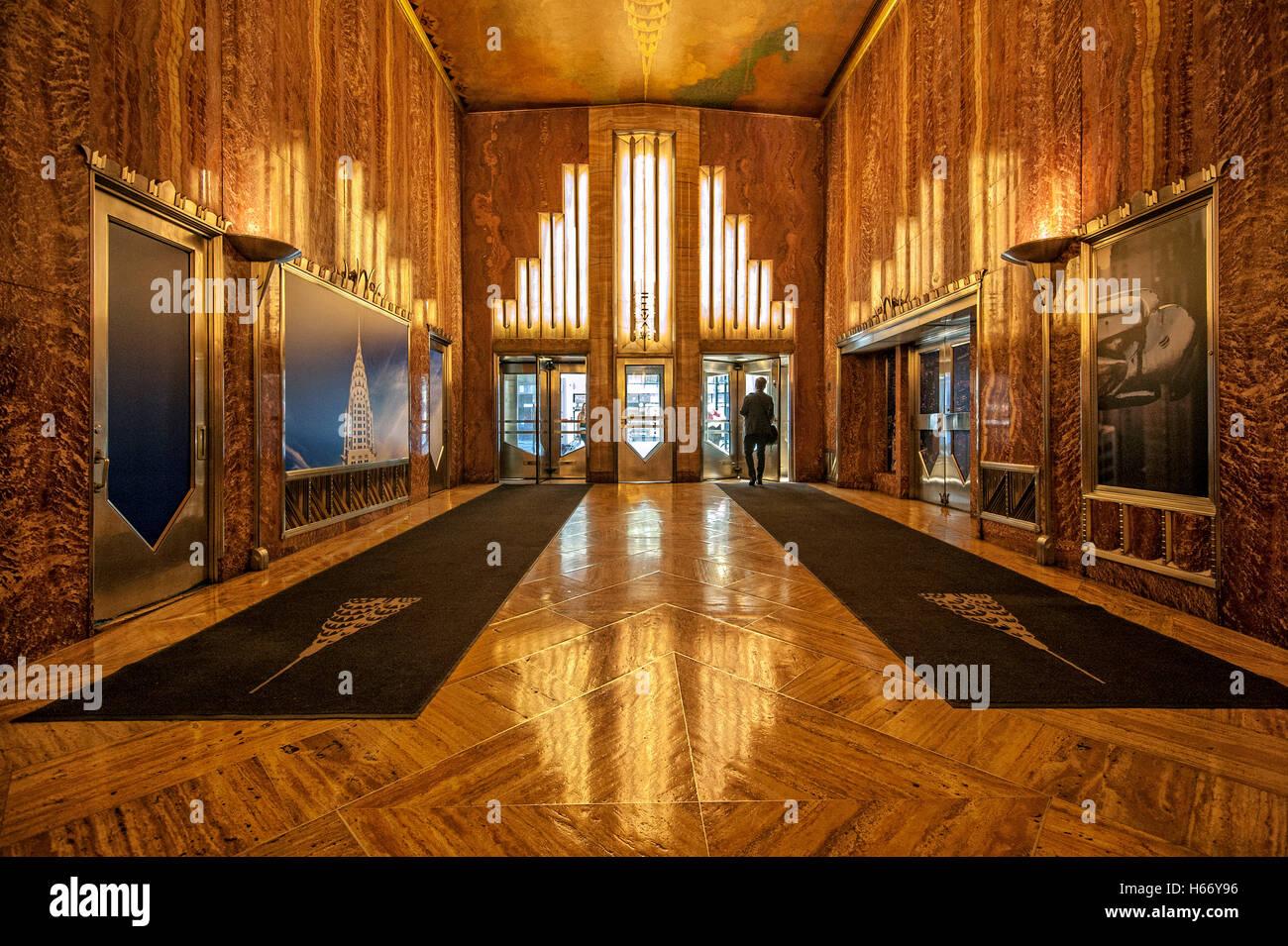 Chrysler Building Interior
