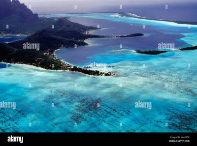 Matira Beach Bora Bora Island Stock Photos & Matira Beach ...