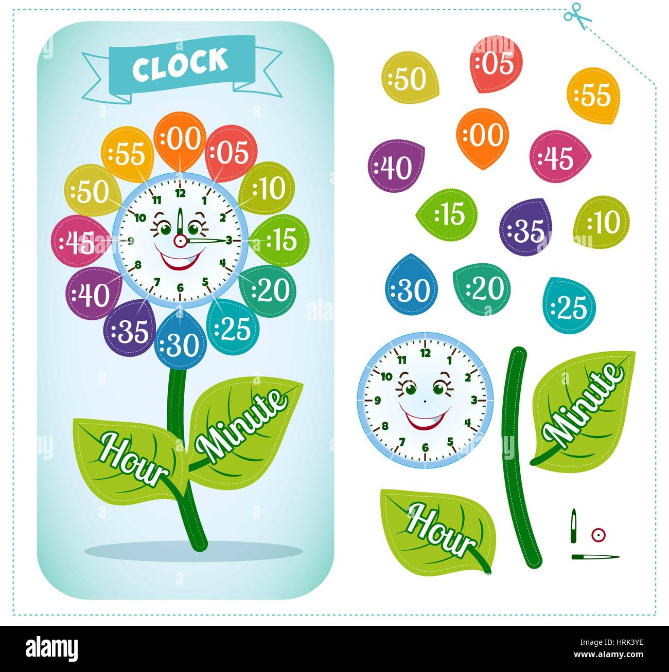 Tell G Time W Ksheet School Kids To Ident Y Time Clock