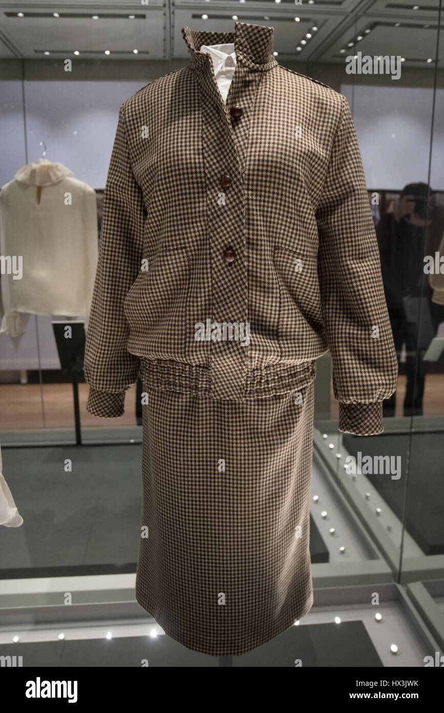 Diana  Her Fashion Story   press view held at Kensington Palace     Diana  Her Fashion Story   press view held at Kensington Palace  Featuring   View Where  London  United Kingdom When  22 Feb 2017