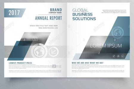company business cover page bifold brochure template design Stock     company business cover page bifold brochure template design