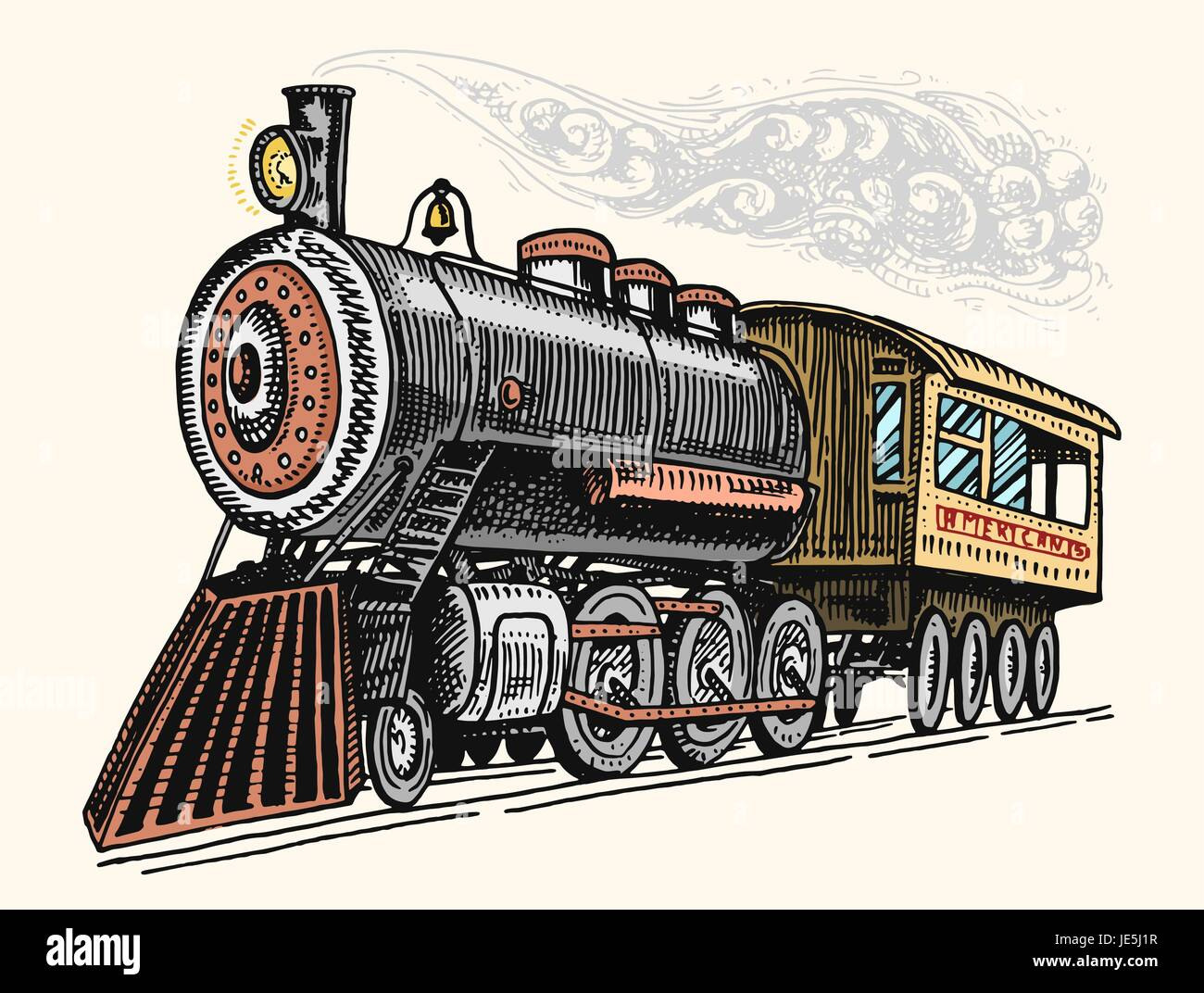 Old steam train cartoon full hd pictures 4k ultra full wallpapers outline sketch blueprint cartoon d animation of old steam locomotive train with freight carriages moving on the rails on vintage dark blue background malvernweather Images