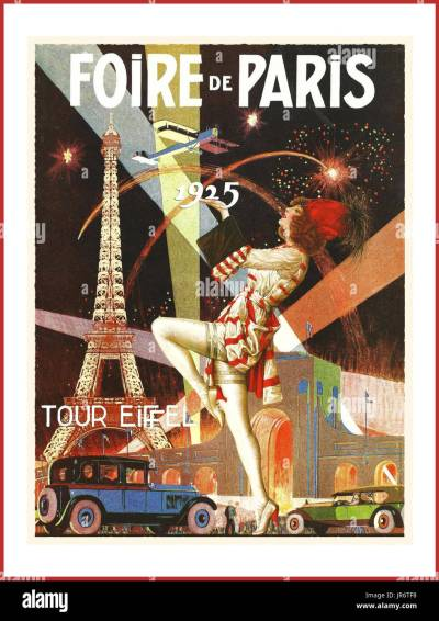 Art Deco Poster Stock Photos & Art Deco Poster Stock ...