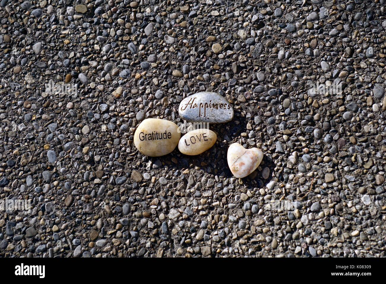 Faith Hope Believe Love Stones