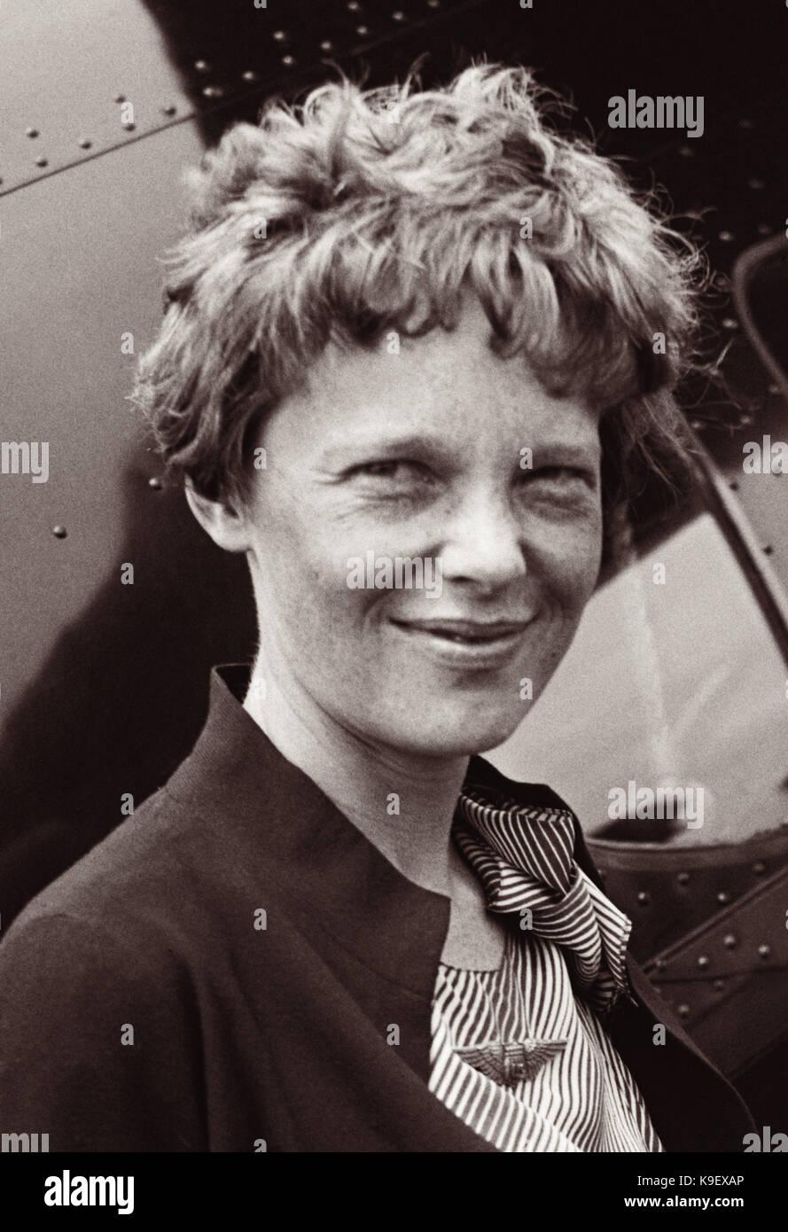 Amelia Earhart Famous