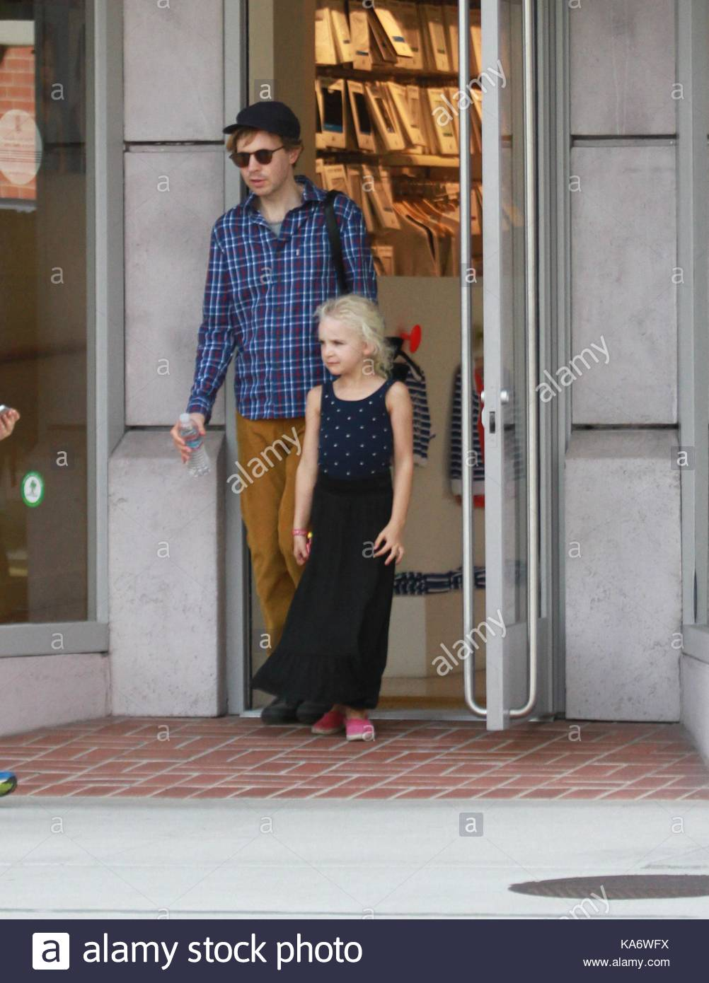 Beck Hansen. Beck Hansen takes his family shopping in ...