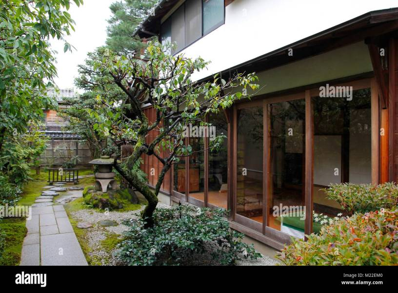 Garden Path Moss Stock Photos   Garden Path Moss Stock Images   Alamy Japanese traditional zen garden in a house   Stock Image