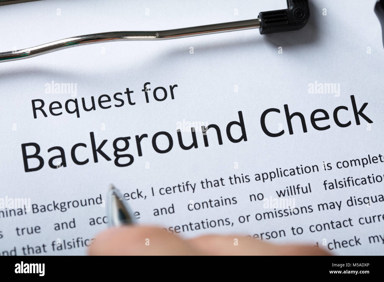 Criminal Background Check Application Form Stock Photo   what is a     criminal record check stock photos amp criminal record check