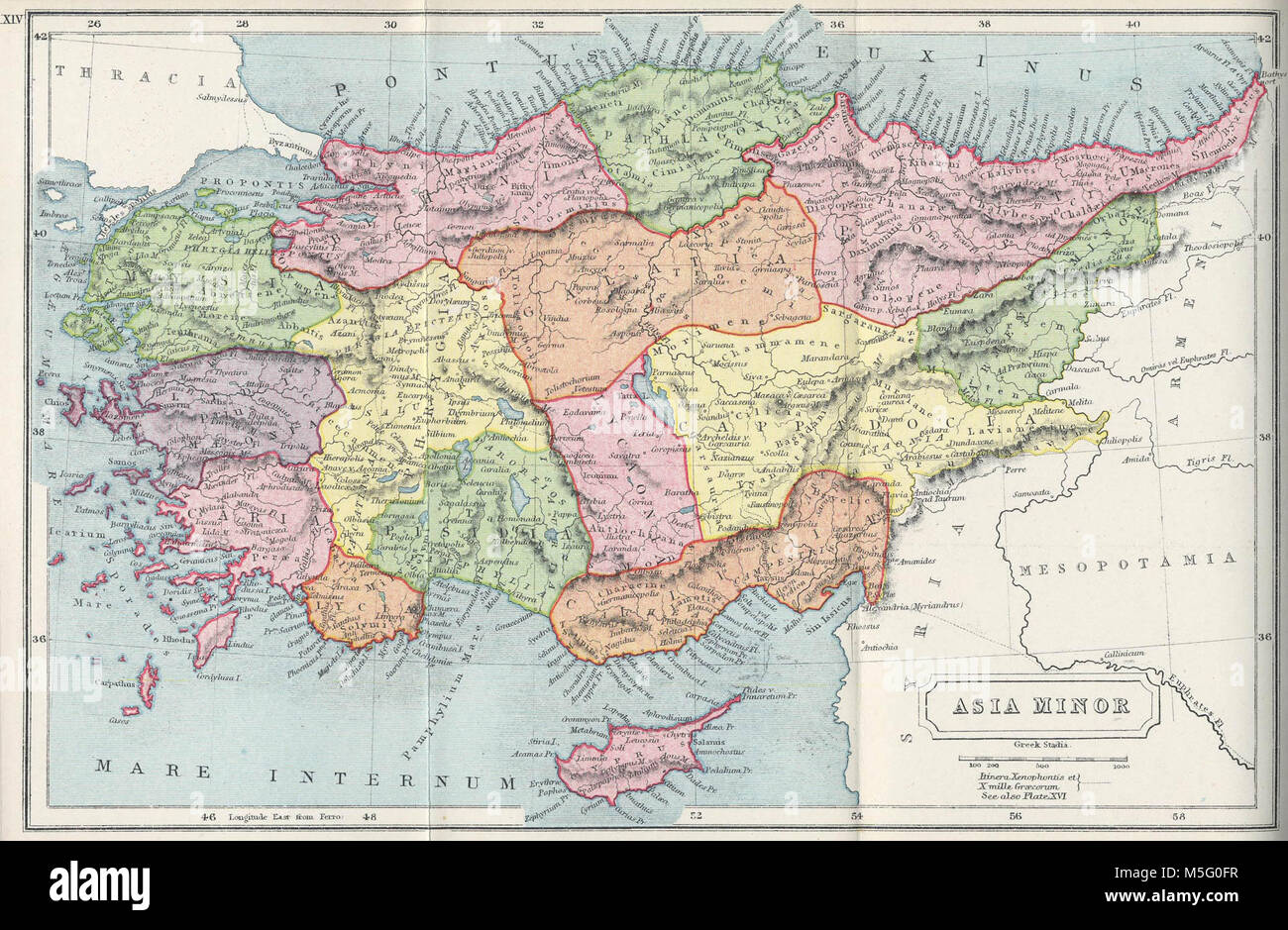 Advertisement cyprus map in asia Full
