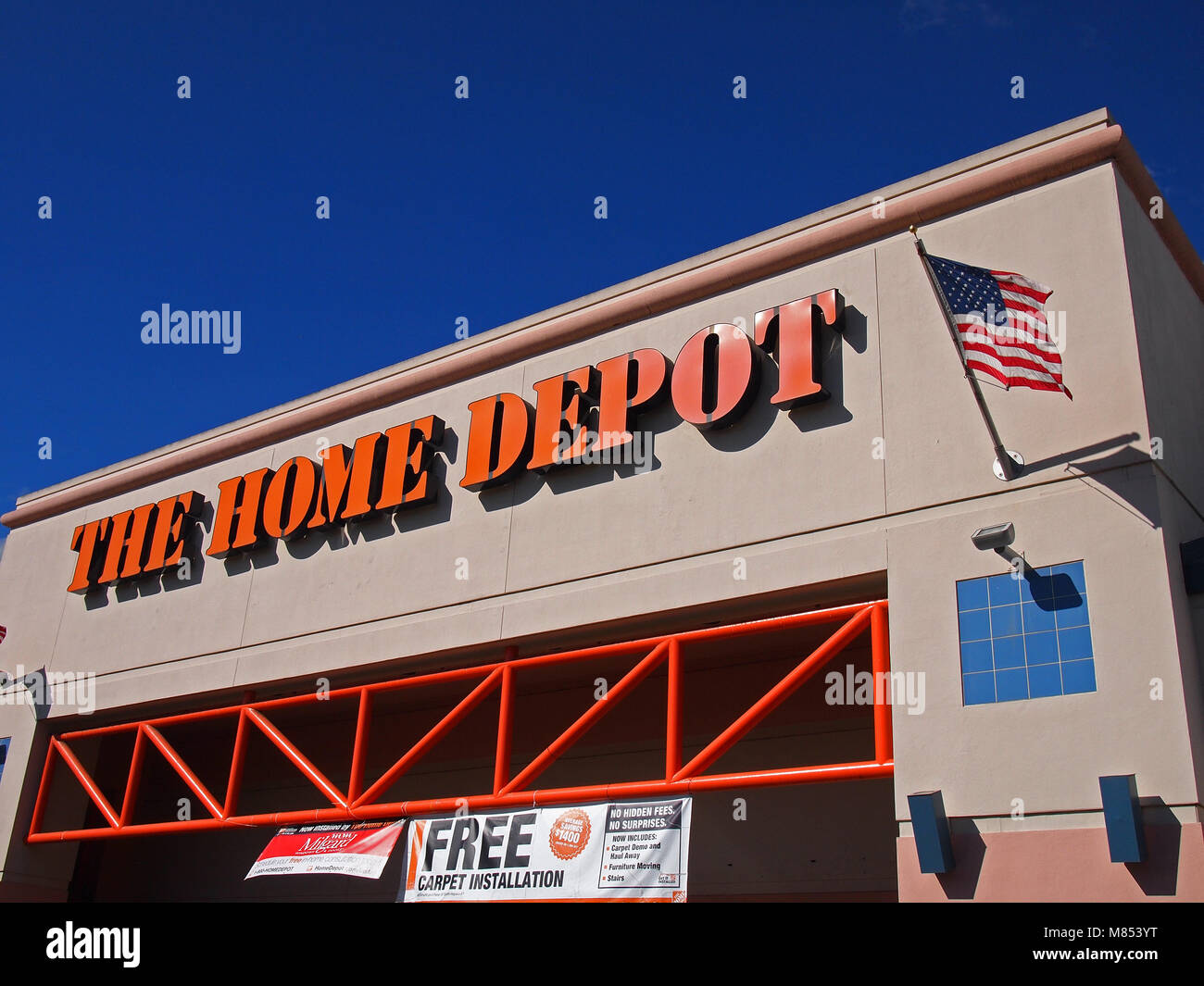 Carpet Depot Stock Photos   Carpet Depot Stock Images   Alamy the Home Depot Store  California  USA    Stock Image