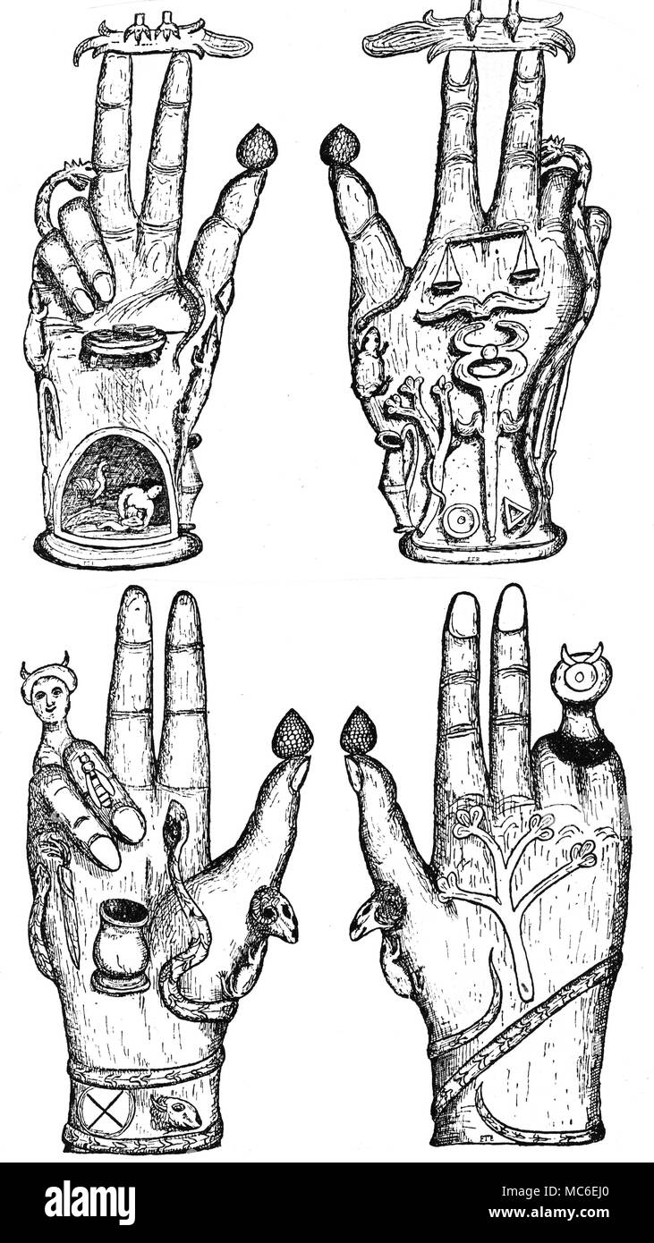 MYSTERY CENTRES - HANDS - SYMBOLS - INITIATION Although ...