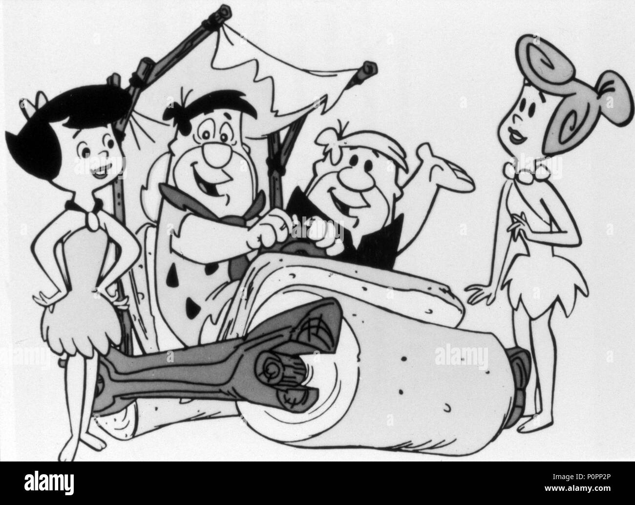 Black White 1960s Animation And