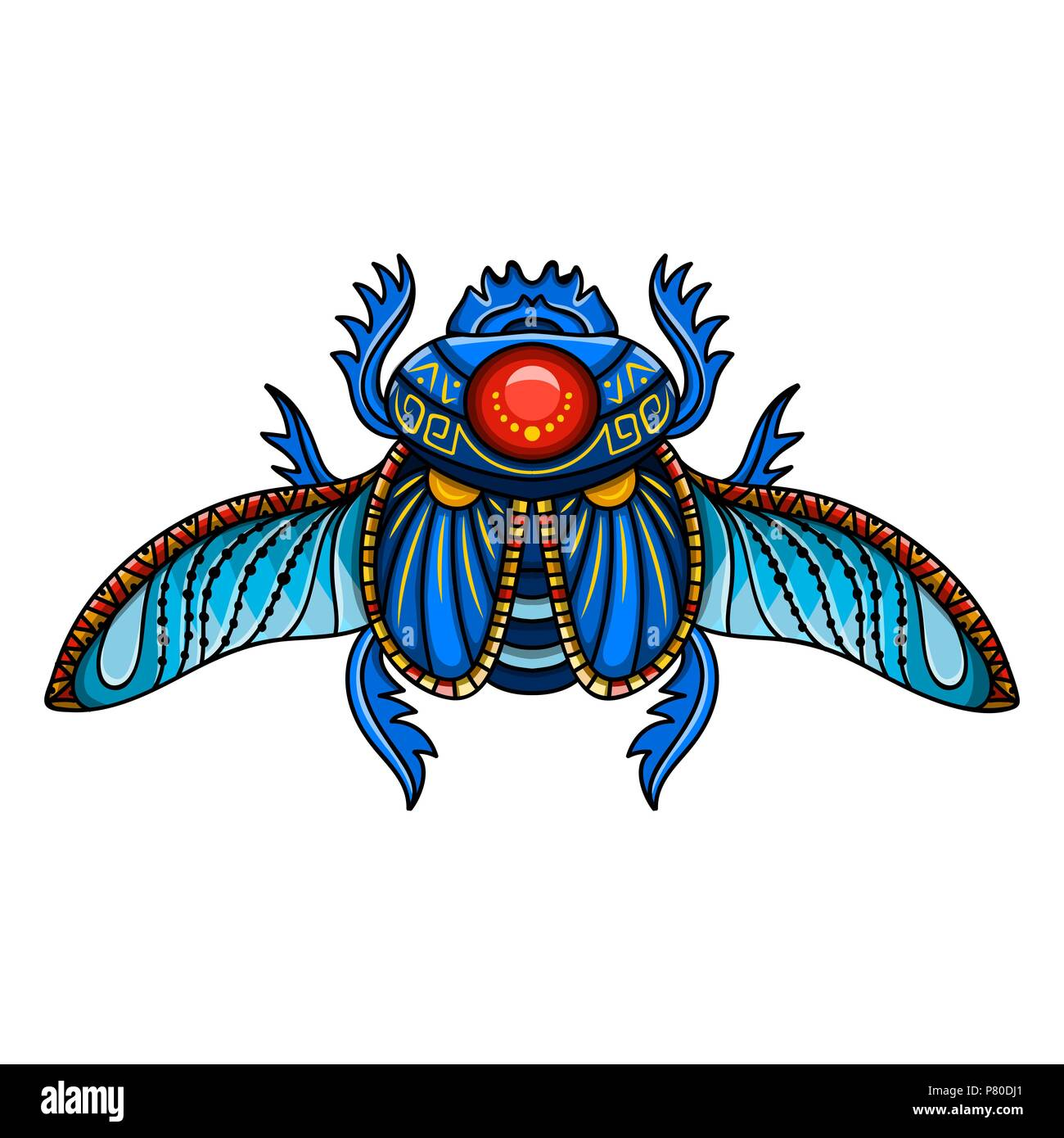 Sacred Scarab Beetle Ancient Egypt Animals