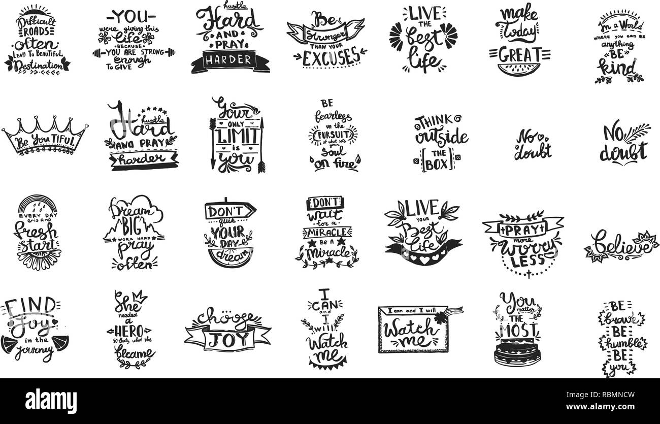 Image of: Motivational Quotes Vector Chalkboard Phrase Handwriting Calligraphy Black And White Engraved Ink Art Solated Quotes Illustration Element Gograph Vector Chalkboard Phrase Handwriting Calligraphy Black And White