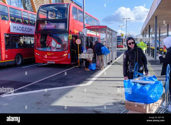 ikea pictures london bus # 66