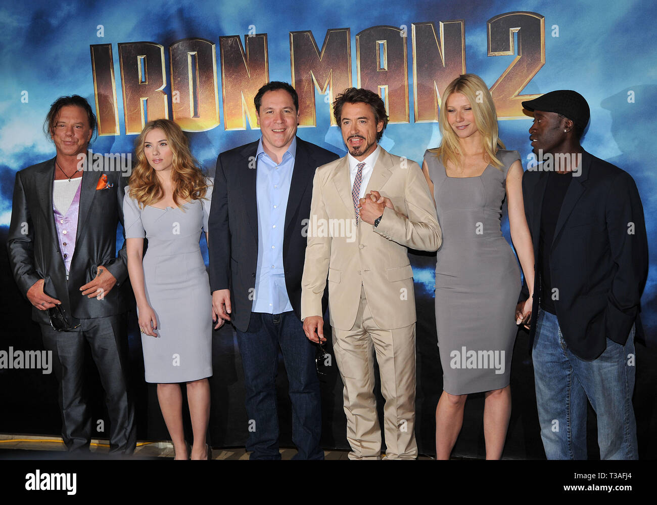 Iron Man 2 cast 73 - IRON MAN 2 Photo Call at the Four ...
