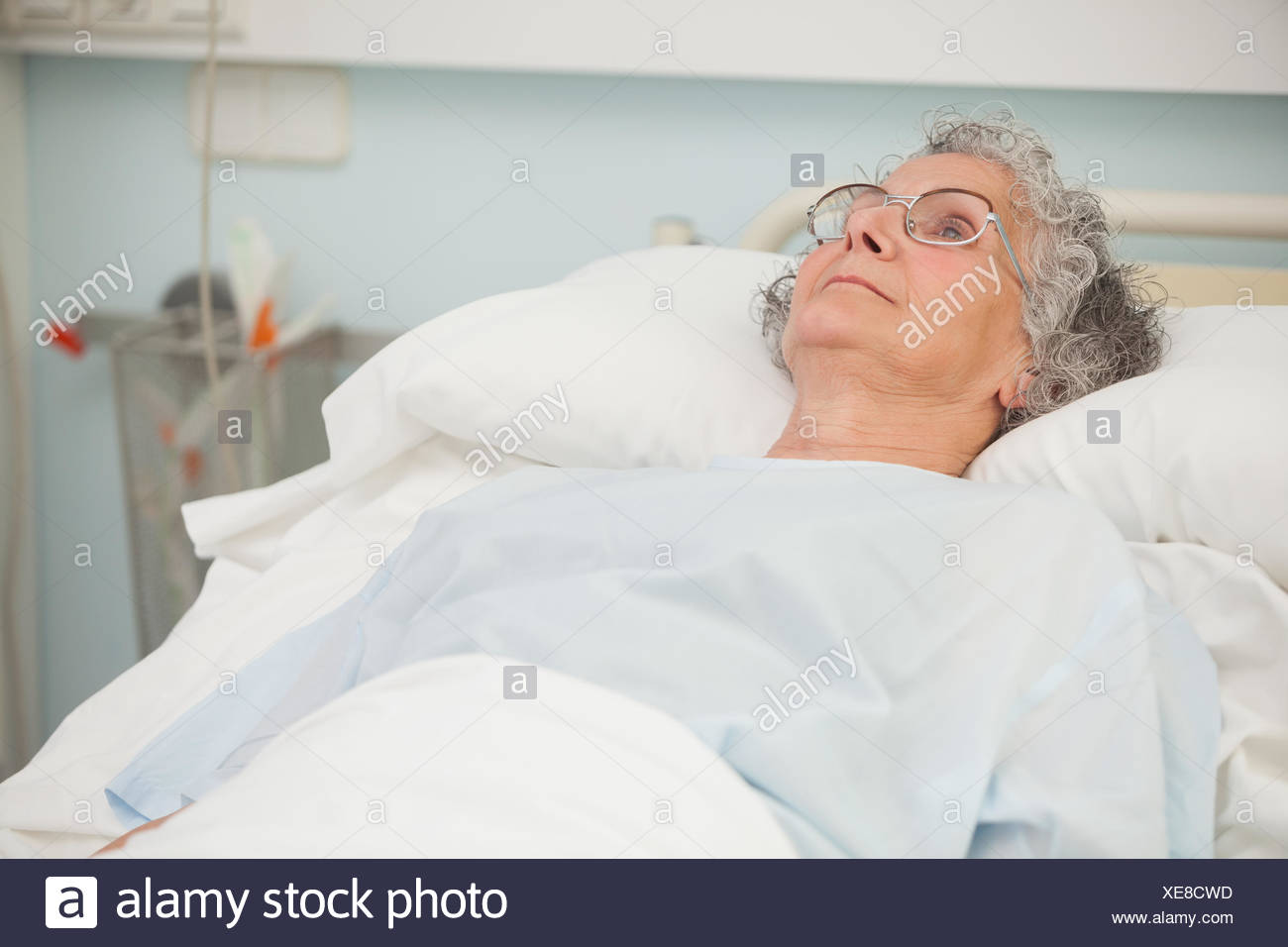 Nursing Home Senior Sad