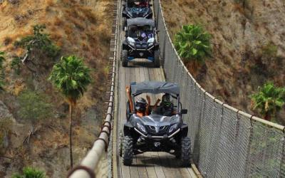 Wild Canyon ATV Tours, ekopark, cabos famous canyon, cabo utv tours, cabo suspension bridge