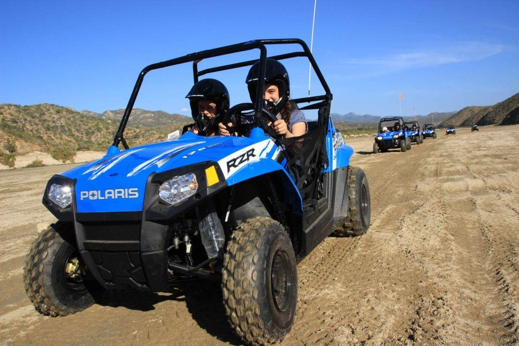 Try the Mini polaris RAZR with Cactus ATV Tours in Cabo San Lucas, activities for kids cabo activities cabo san lucas land tours for the best kids off road adventure in cabo