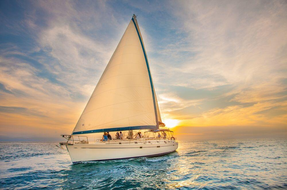 luxury adults only sunset sail with cabo adventures in cabo san lucas mexico, cabo adventures