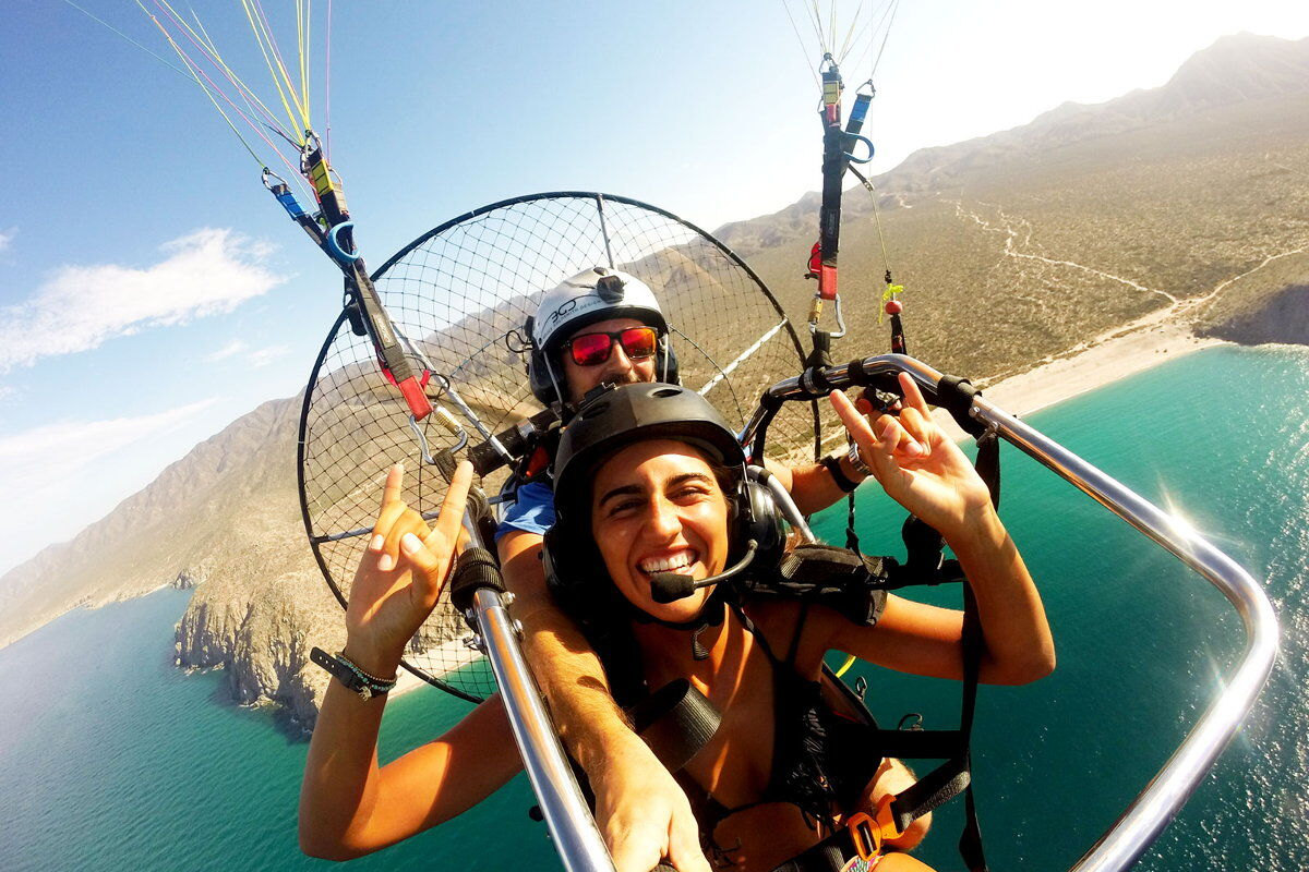 cabos best tours paragliding mexico and the cabo san lucas coast