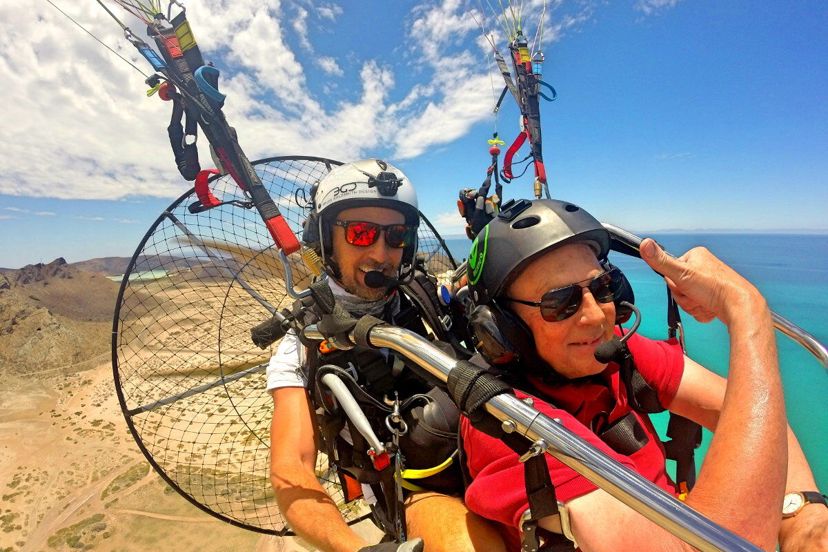 cabos best whale watching tour from the sky with paragliding mexico in cabo san lucas