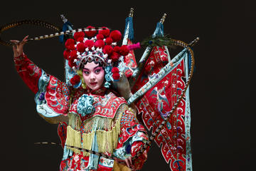 Experience Beijing Opera  Private Makeup Session and Show at     Experience Beijing Opera  Private Makeup Session and Show at TaipeiEYE 2018