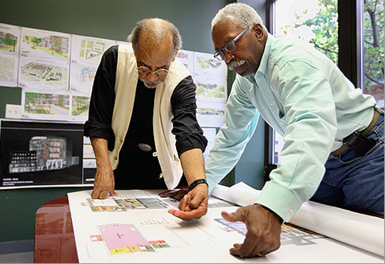 Celebrated African American Architectural Team Helped Shape City The Boston Globe