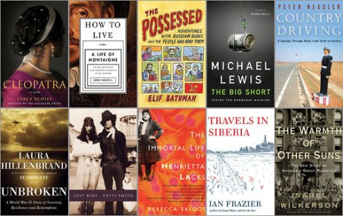 Best nonfiction books of 2010   Boston com Best nonfiction books of 2010