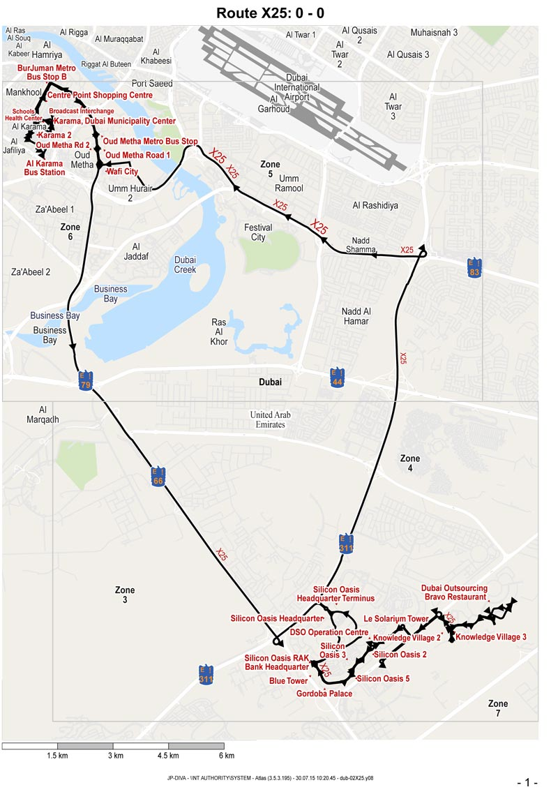 Three New Bus Routes Launched In Dubai Emirates24 7